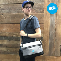 Grey Satchel Bag